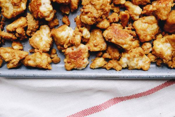 Tofu pané Loounie