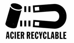 Acier recyclable